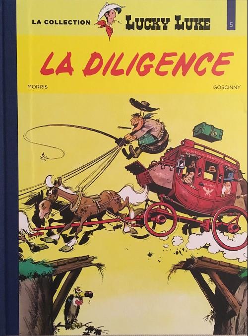 Couverture de Lucky Luke - La collection (Hachette 2018) -532- La diligence