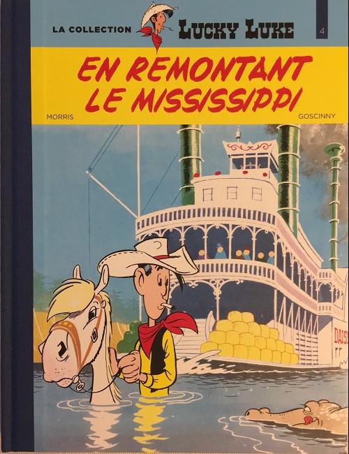 Couverture de Lucky Luke - La collection (Hachette 2018) -416- En remontant le Mississippi
