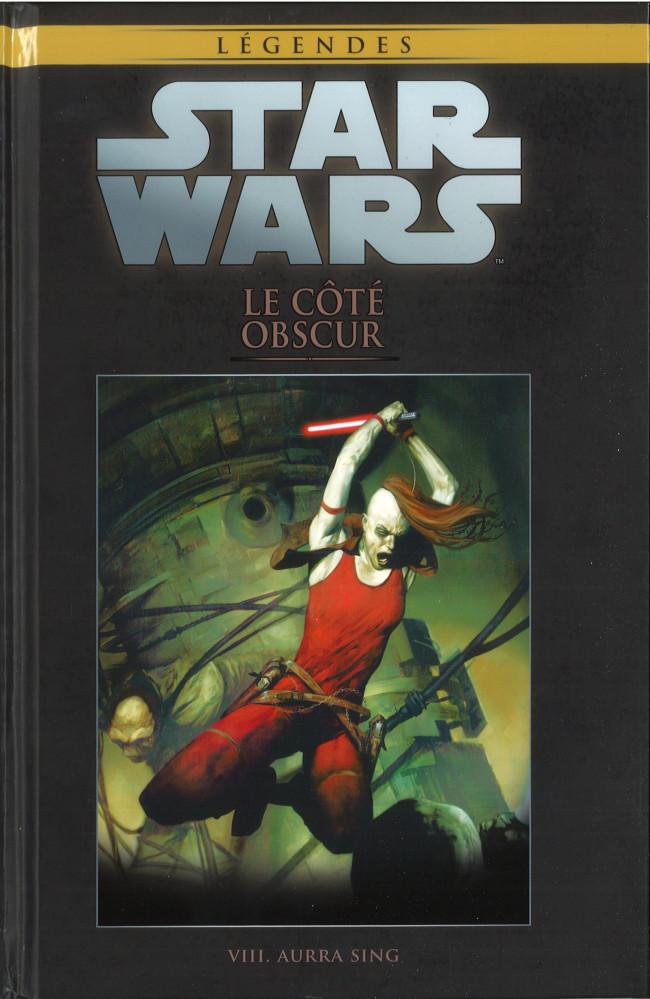 Couverture de Star Wars - Légendes - La Collection (Hachette) -86VIII- Le Coté Obscur - VIII. Aurra Sing