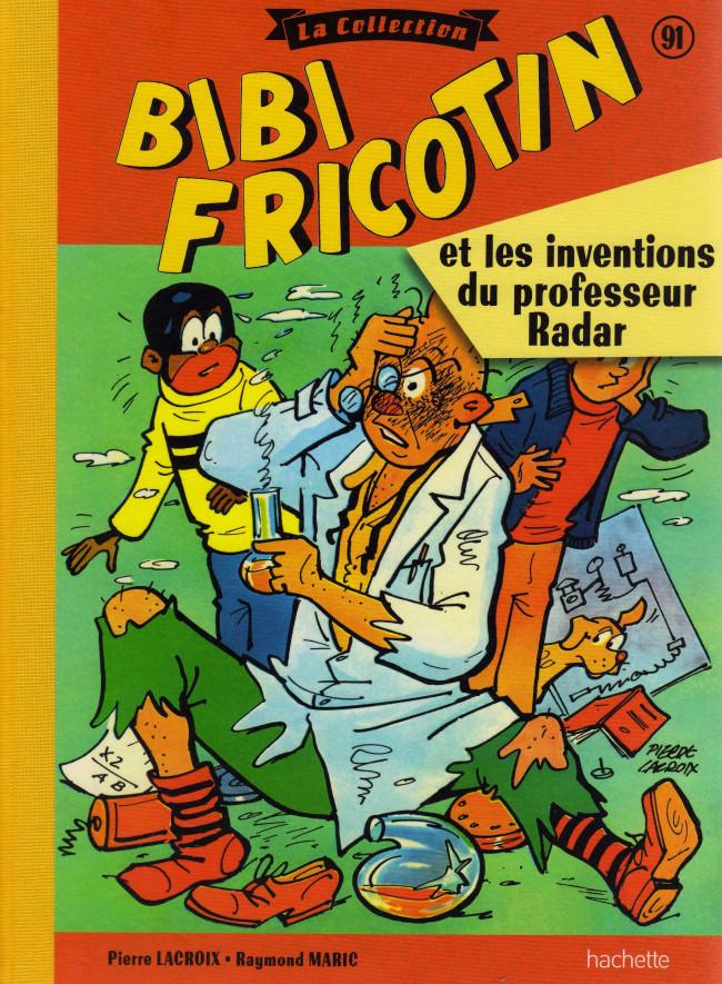 Couverture de Bibi Fricotin (Hachette - la collection) -91- Bibi Fricotin et les inventions du professeur Radar