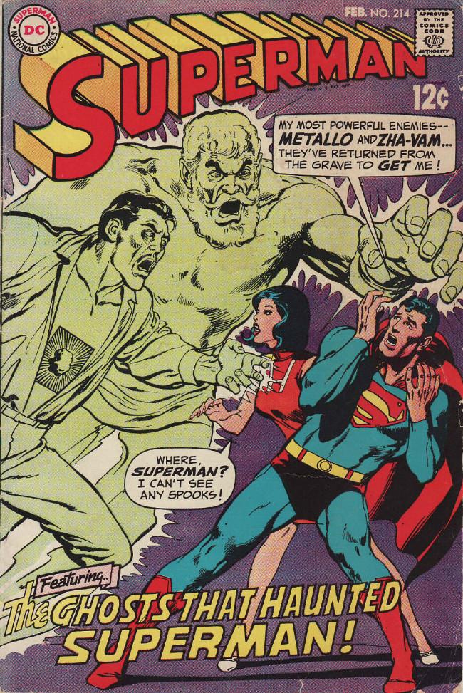 Couverture de Superman (1939) -214- The Ghosts That Haunted Superman!