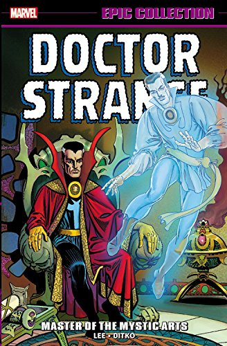 Couverture de Doctor Strange Epic Collection (2016) -INT01- Master of the Mystic Arts