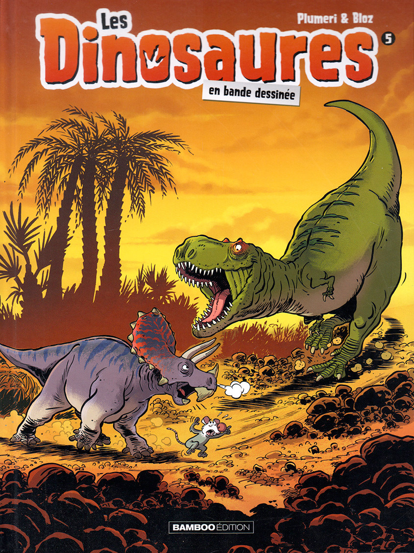 Couverture de Les dinosaures en bande dessinée -5- Tome 5