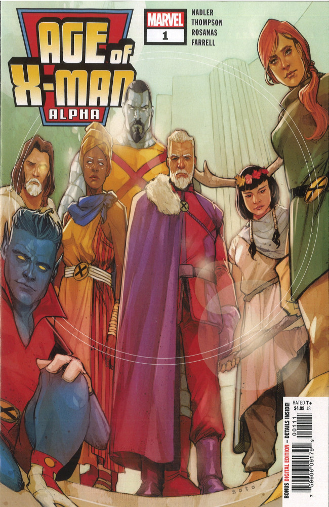 Couverture de Age of X-Man Alpha (2019) -1- Welcome to a Perfect World