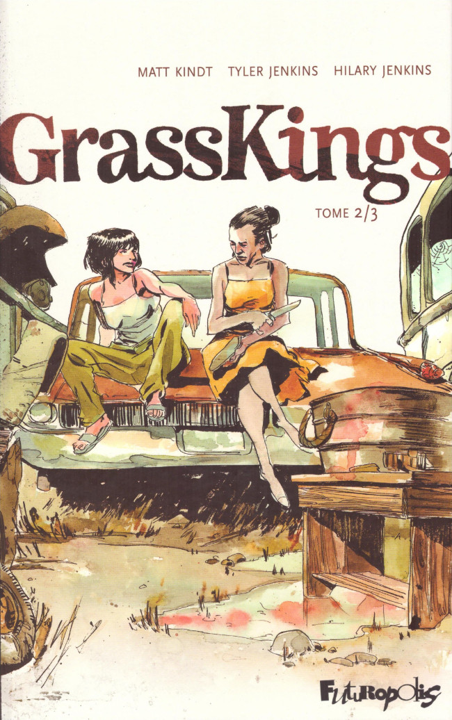 Couverture de Grass Kings -2- Tome 2