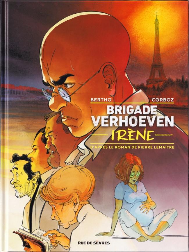 Couverture de Brigade Verhoeven -2- Irène