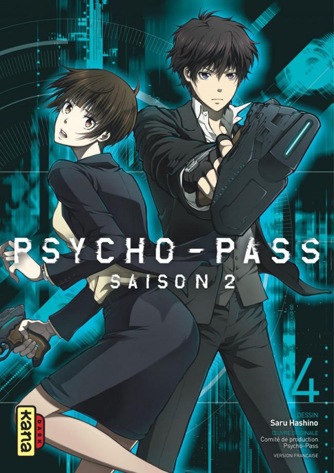 Couverture de Psycho-Pass Saison 2 -4- Tome 4