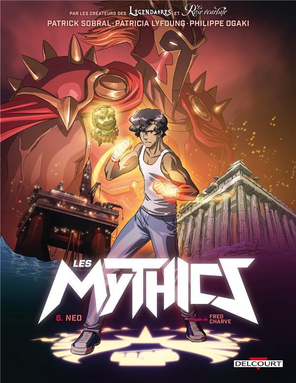 Couverture de Les mythics -6- Neo