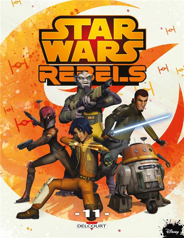 Couverture de Star Wars - Rebels -11- Tome 11