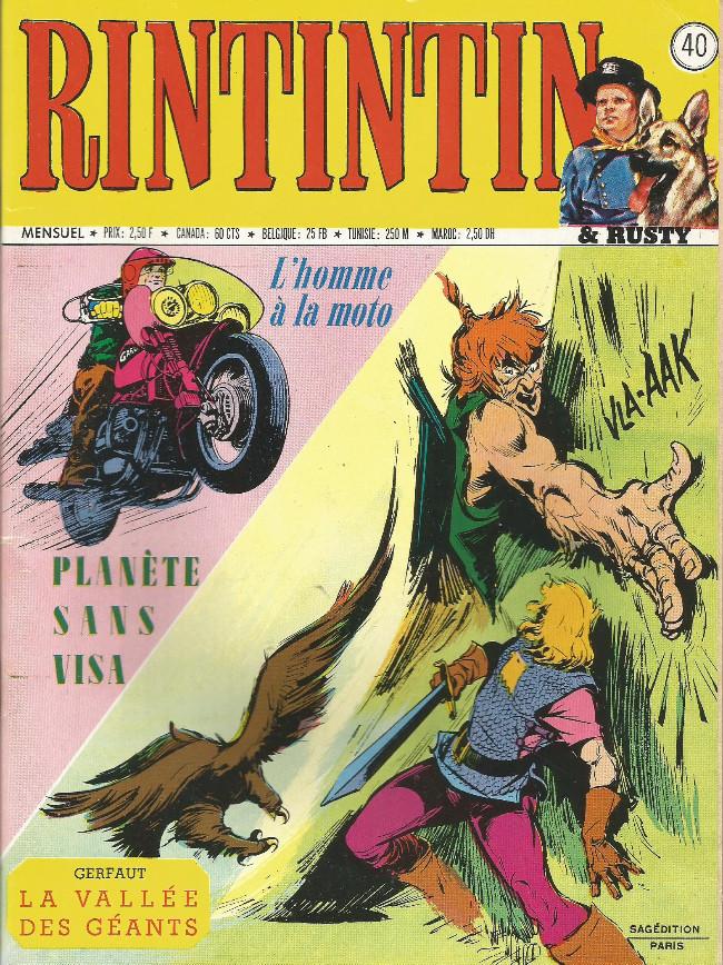 Couverture de Rin Tin Tin & Rusty (2e série) -40- Une étrange filon