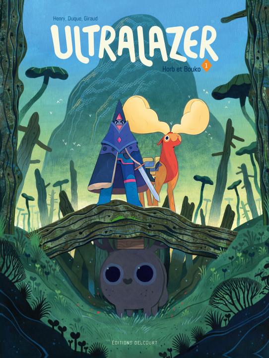 Couverture de Ultralazer -1- Horb et Bouko