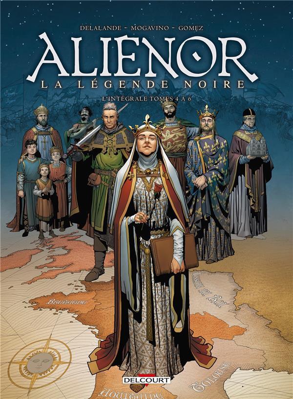 Couverture de Les reines de sang - Aliénor, la Légende noire -INT2- L'intégrale - Tomes 4 à 6