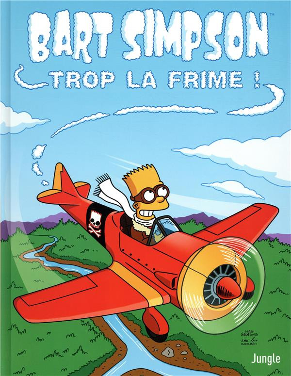 Couverture de Bart Simpson (Jungle !) -17- Trop la frime !