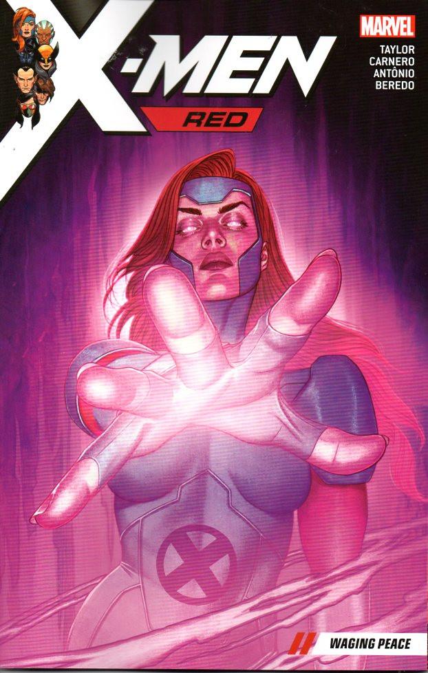 Couverture de X-Men: Red (2018) -INT02- Waging peace