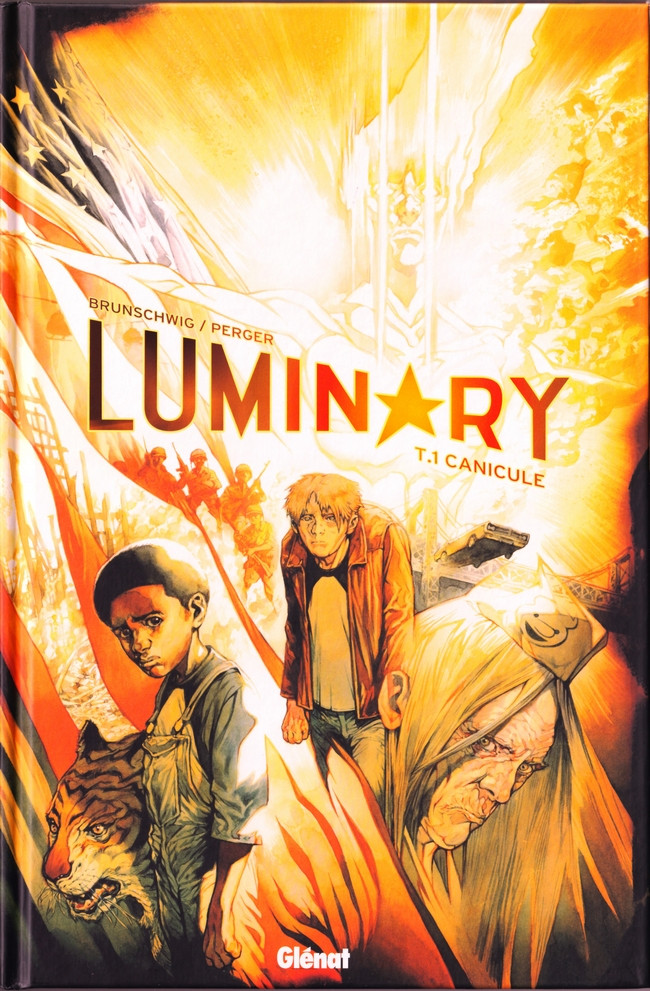 Couverture de Luminary -1- Canicule