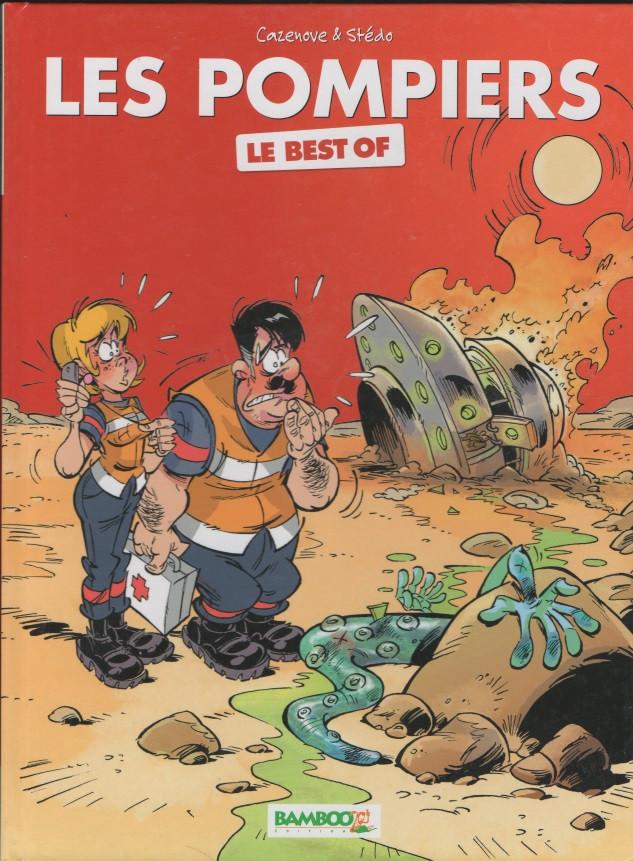Couverture de Les pompiers -Lidl03- Best Of