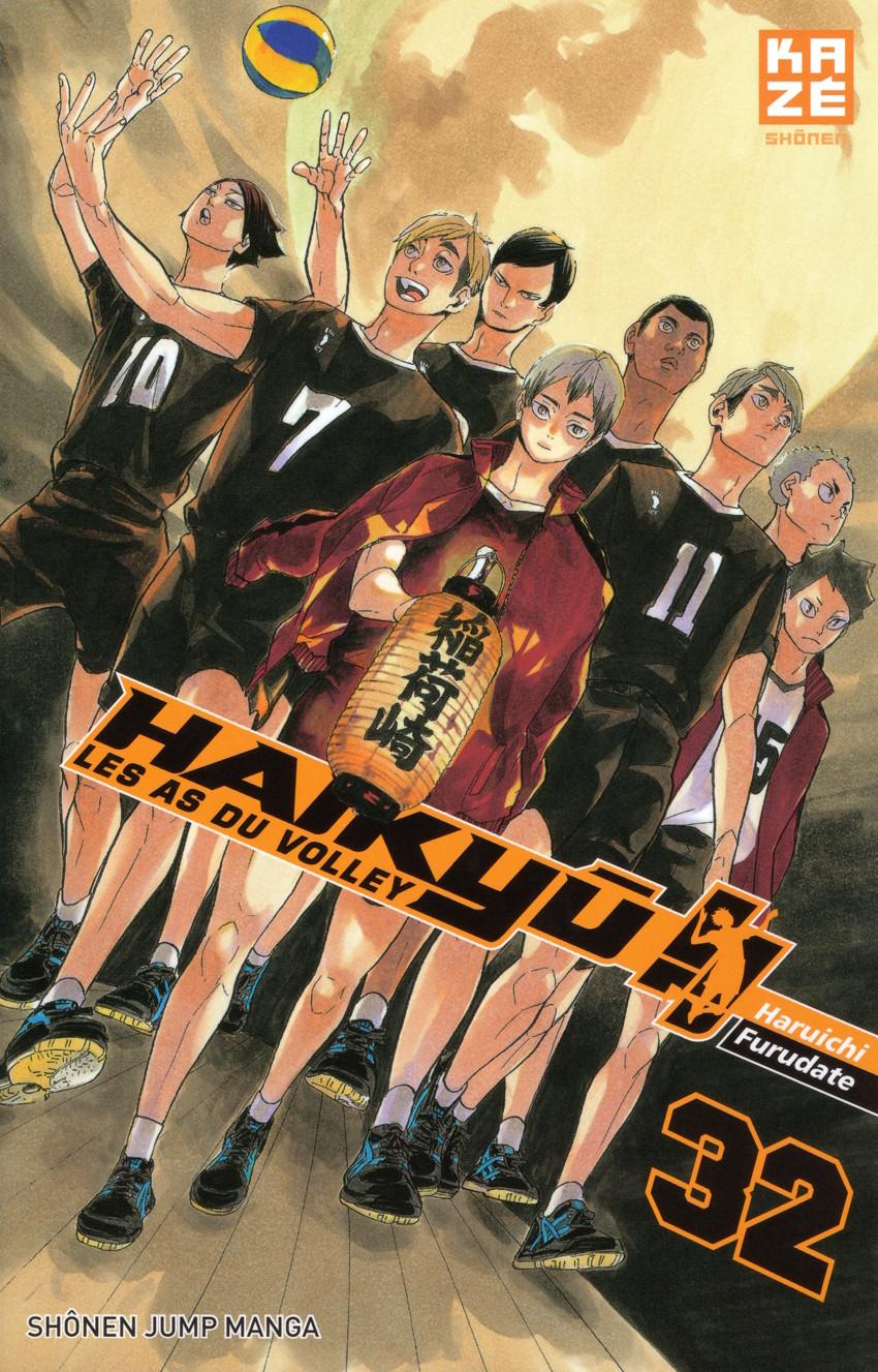 Couverture de Haikyu !! Les As du Volley -32- Tome 32
