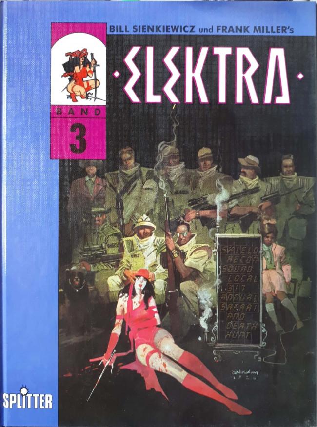 Couverture de Elektra (en allemand) -3- Einschnitt