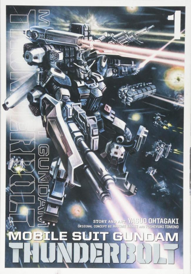 Couverture de Mobile Suit Gundam - Thunderbolt -1- Tome 1