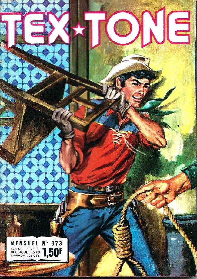 Couverture de Tex-Tone -373- Les fugitifs