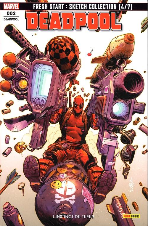 Couverture de Deadpool (Marvel France 6e série - 2019)  -2- L'instinct du tueur