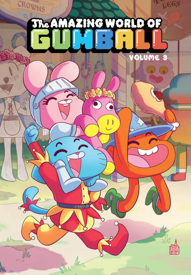 Couverture de Gumball (The Amazing world of) -3- Volume 3