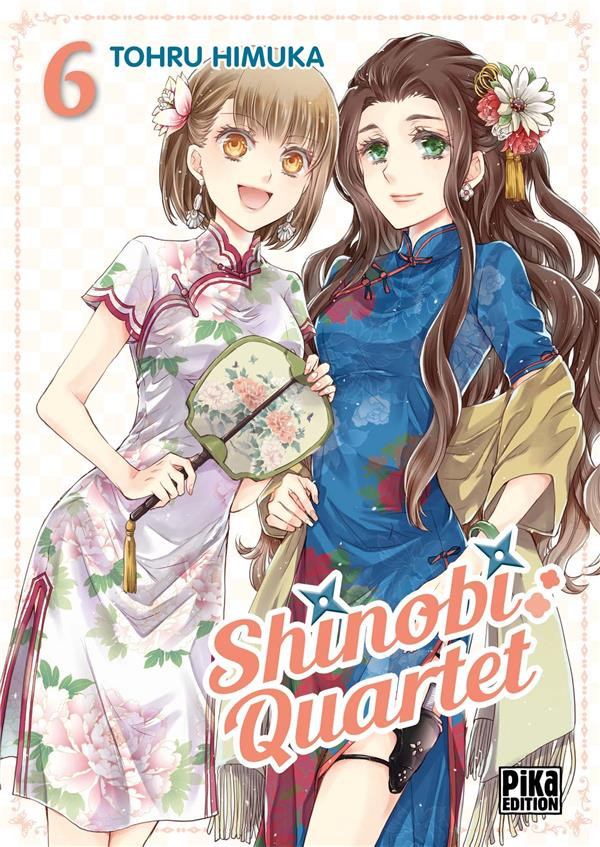 Couverture de Shinobi Quartet -6- Tome 6