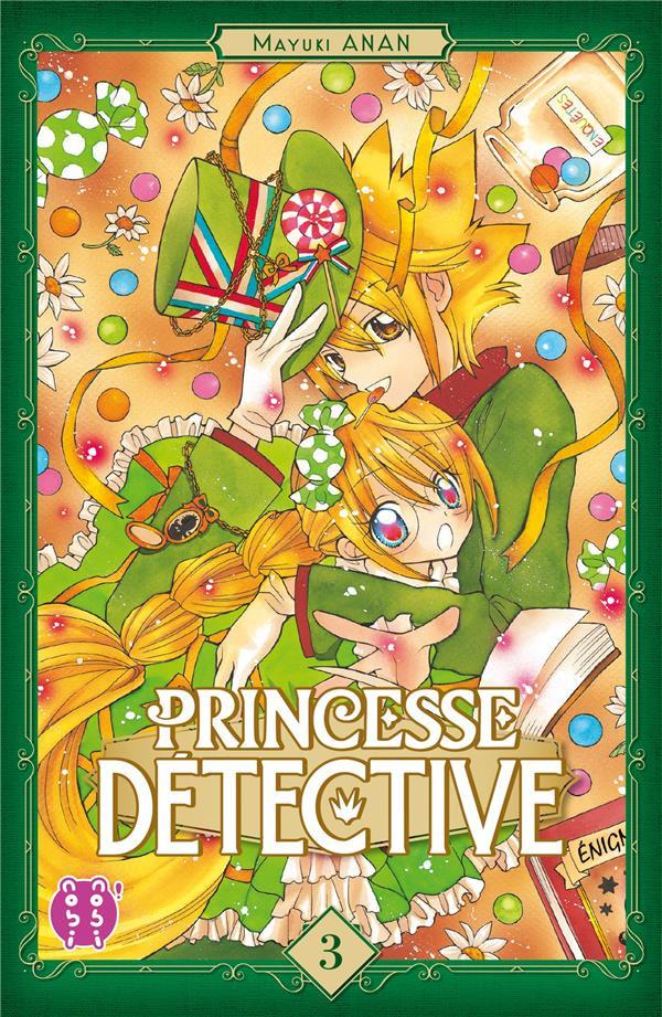 Couverture de Princesse détective -3- Tome 3