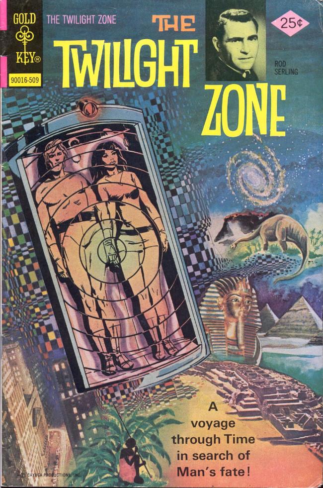 Couverture de Twilight Zone (The) (Gold Key - 1962) -66- (sans titre)