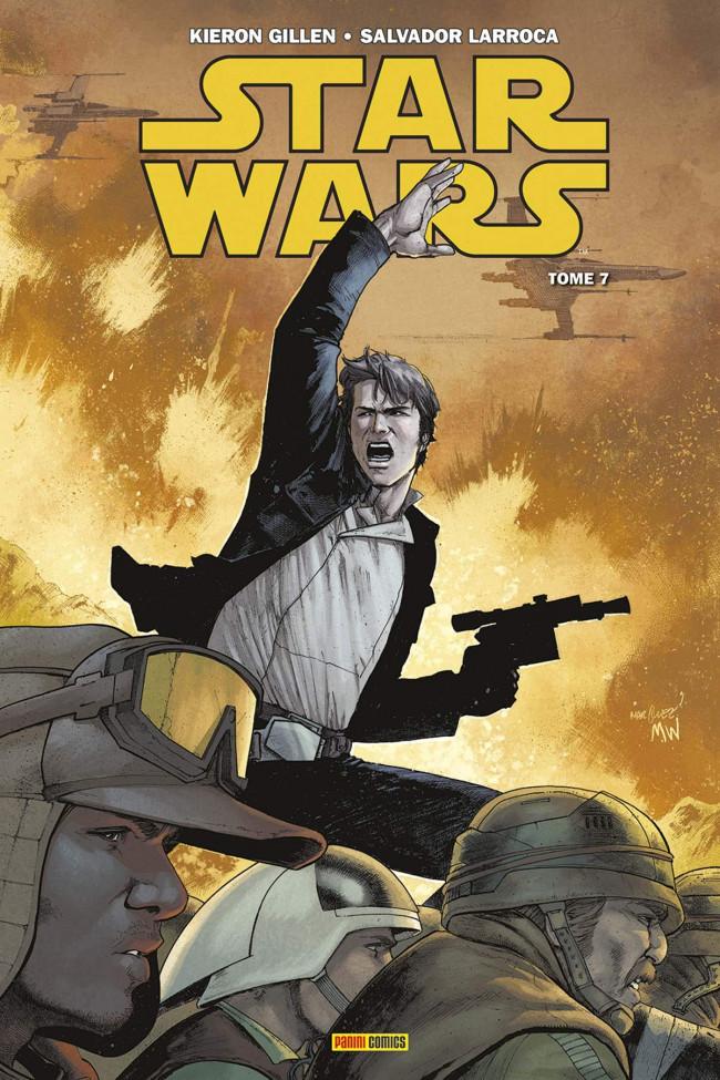 Couverture de Star Wars (Panini Comics - 100% Star Wars) -7- Les Cendres de Jedha