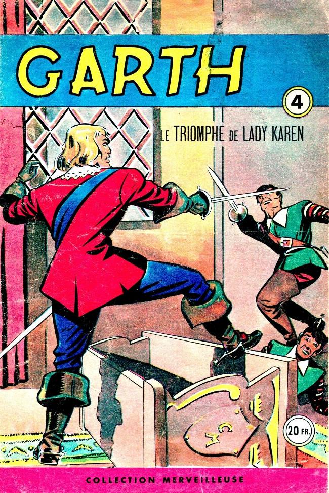 Couverture de Garth (1re série) -4- Le triomphe de Lady Karen