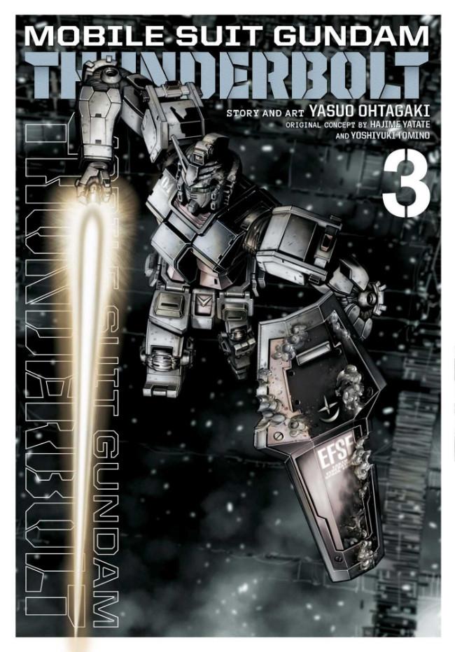 Couverture de Mobile Suit Gundam - Thunderbolt -3- Tome 3