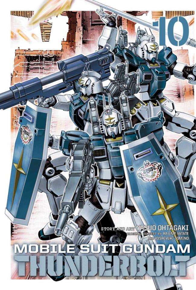 Couverture de Mobile Suit Gundam - Thunderbolt -10- Tome 10
