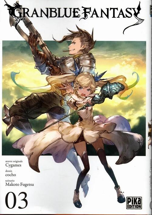 Couverture de Granblue Fantasy -3- Tome 3