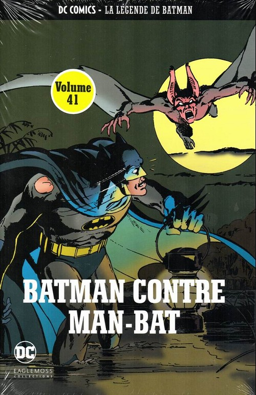 Couverture de DC Comics - La légende de Batman -4114- Batman contre Man-Bat