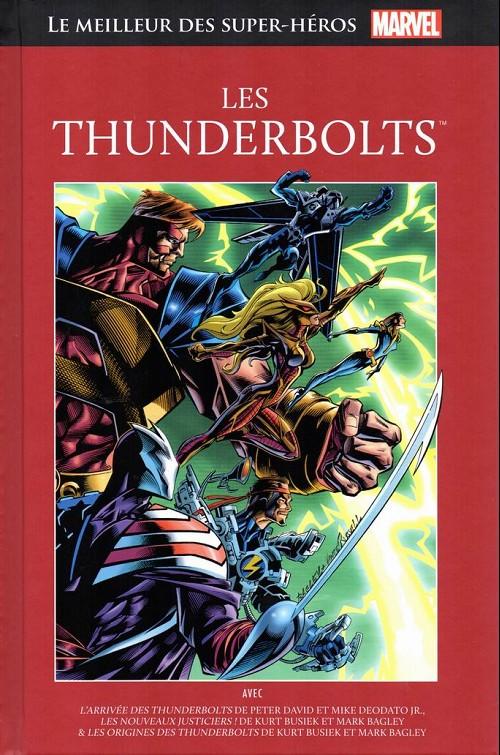 Couverture de Marvel Comics : Le meilleur des Super-Héros - La collection (Hachette) -82- Les thunderbolts