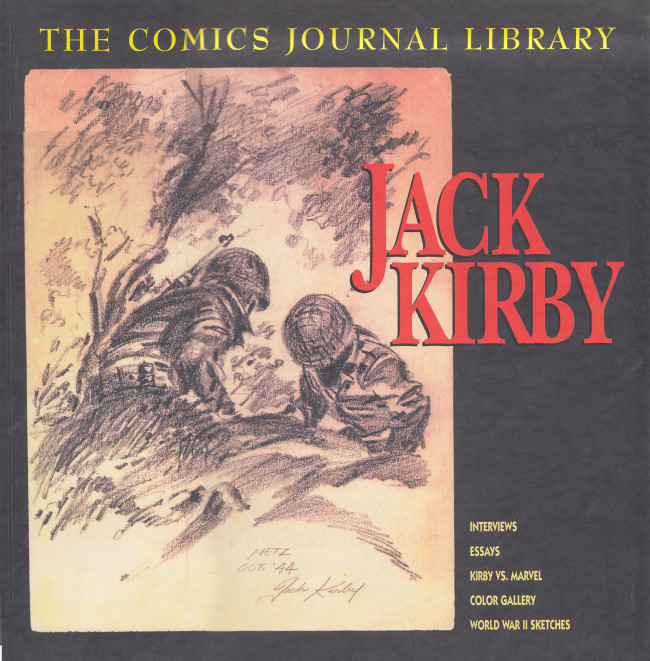 Couverture de (DOC) The Comic Journal Library -1- Jack Kirby