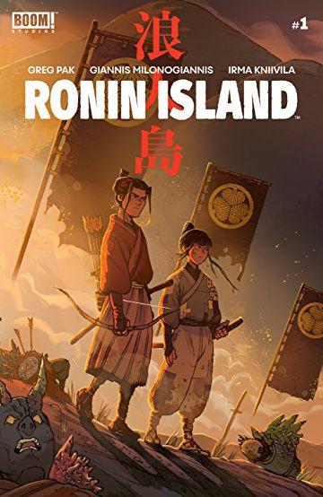Couverture de Ronin Island (2019) -1- Issue #1