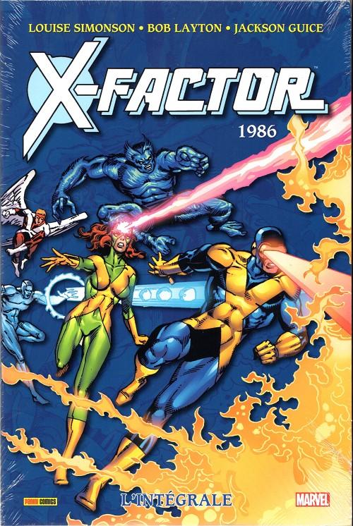 Couverture de X-Factor (Intégrale) -1- 1986