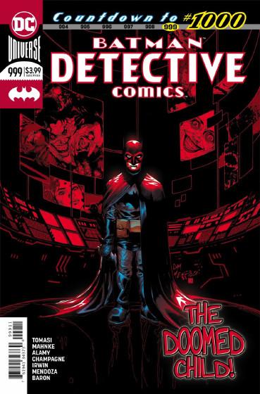 Couverture de Detective Comics (1937), Période Rebirth (2016) -999- Mythology - The price you pay