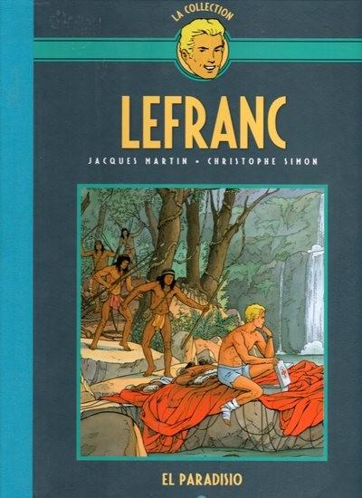 Couverture de Lefranc - La Collection (Hachette) -15- El paradisio