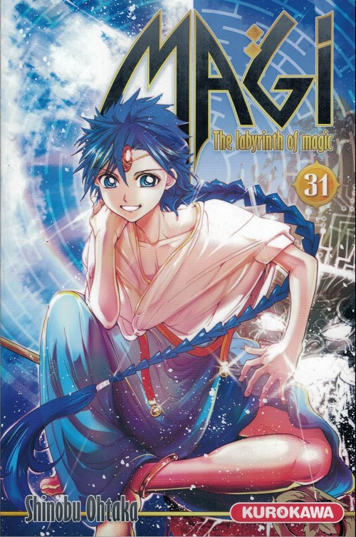 Couverture de Magi (The labyrinth of magic) -31- Tome 31