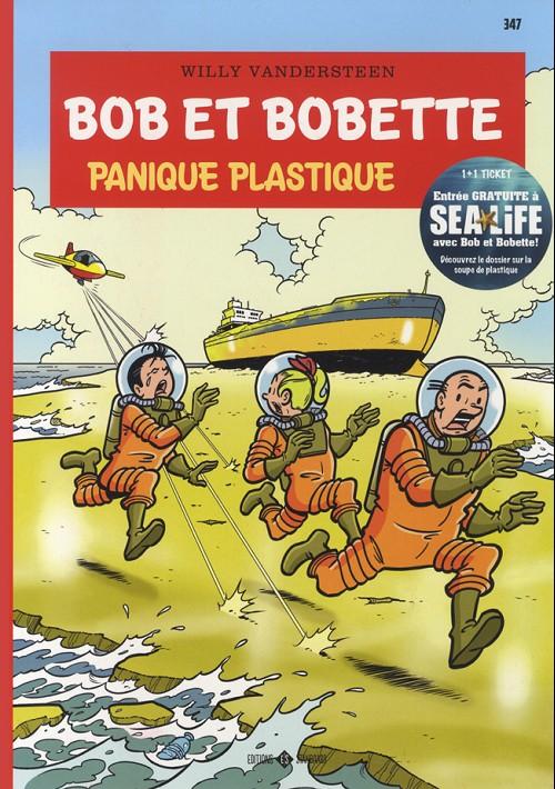 Couverture de Bob et Bobette -347- Panique plastique