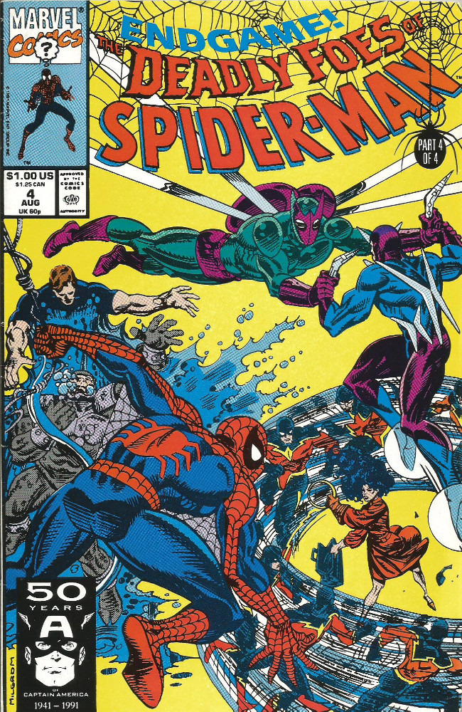 Couverture de Deadly Foes of Spider-Man (The) (1991) -4-