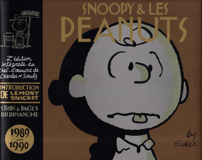 Couverture de Snoopy & Les Peanuts (Intégrale Dargaud) -20- 1989 - 1990