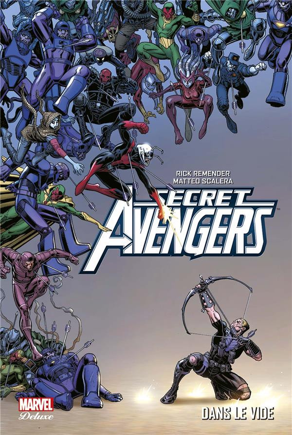 Couverture de Secret Avengers (Marvel Deluxe) -4- Dans le vide