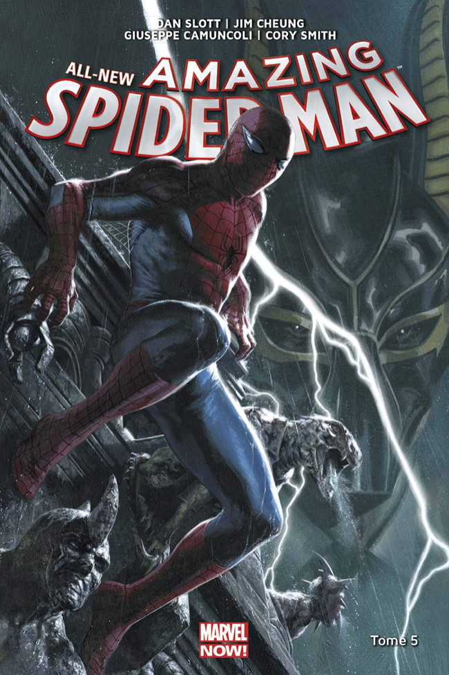 Couverture de All-New Amazing Spider-Man (Marvel Now!) -5- La conspiration des clones
