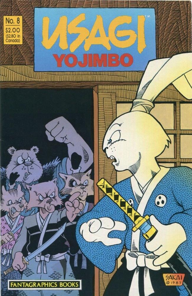 Couverture de Usagi Yojimbo (1987) -8- No. 8