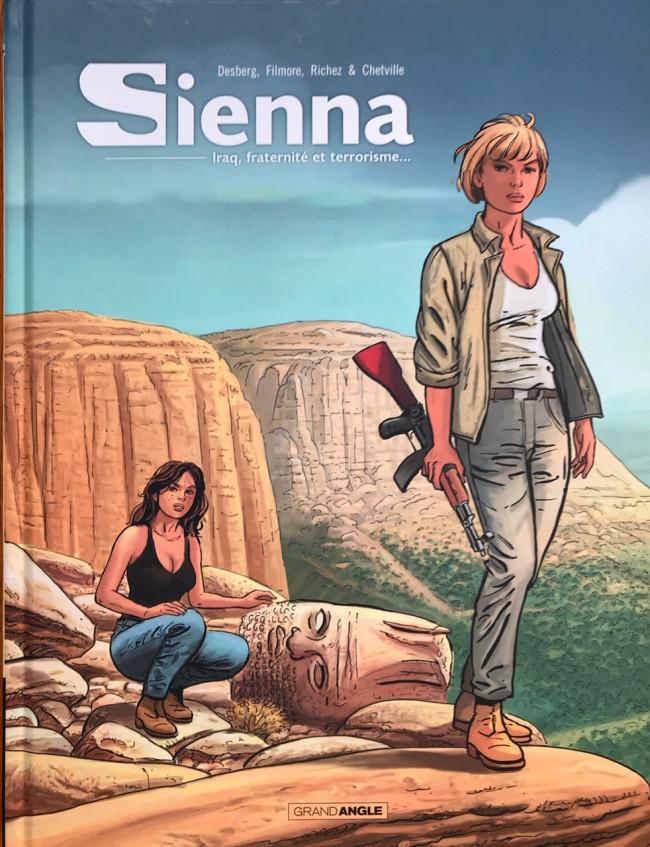 Couverture de Sienna -INT02- Iraq, fraternité et terrorisme