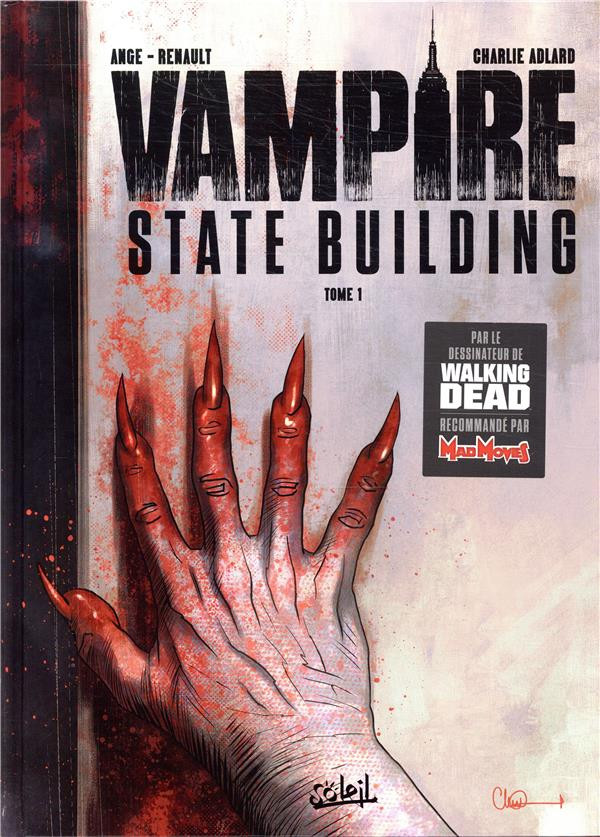 Couverture de Vampire State Building -1- Tome 1